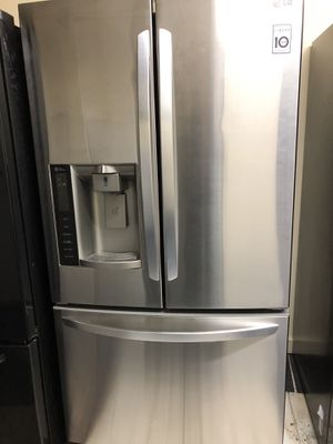 LG refrigerator 3 doors for Sale in Columbus, OH