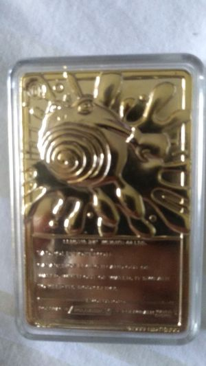 TADPOLE POKEMON GOLD PLATED CARD for Sale in Pleasant Hill, CA
