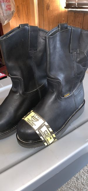 Black Steel Toe Work Boot for Sale in Angier, NC