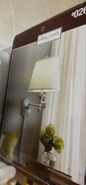 allen + roth Wall Mounted Lamp for Sale in Peoria, IL