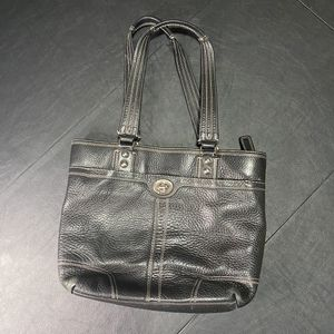Coach Purse Black Leather Handbag for Sale in Tacoma, WA