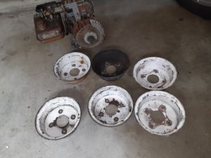 1960s gokart rims and motor for Sale in Lawndale, CA