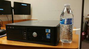 Multimedia computer: Dell 780, (i5 level commercial grade CPU E8400@2x3.0GHz) 8GB RAM, 256GB SSD, DVD,5G WiFi, win10Pro for Sale in Dallas, TX