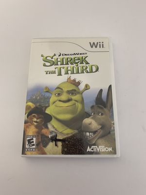 Shrek The 3rd Game Wii for Sale in Austin, TX