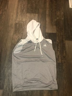 Adidas sleeveless hoodie (LG) for Sale in COCKYSVIL, MD