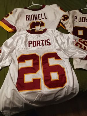 Clinton Portis authentic Washington Redskins Jersey size 52 for Sale in Falls Church, VA