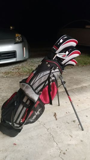 Hagen Jr Series 2 left handed golf clubs for Sale in Youngsville, NC