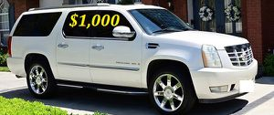 $1,OOO I'm selling urgently 2OO8 Cadillac Escalade. for Sale in Oakland Park, FL