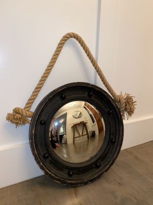 Hanging Porthole Mirror for Sale in Needham, MA