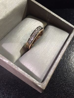 Unisex 🤵👰💍 18K Gold plated Engagement /Wedding Ring 🤩❤️ Radiant- Prince / Asscher for Sale in Houston, TX