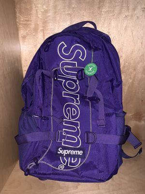 Supreme BackPack Purple (FW18) for Sale in Miami Beach, FL
