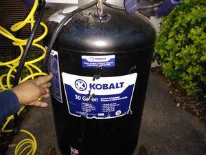 Kobalt Air Compressor...belt driven !!! for Sale in Irving, TX