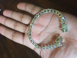 silver bracelet unisex for Sale in Columbus, OH