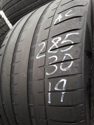 285/30-19 #1 tire for Sale in Alexandria, VA