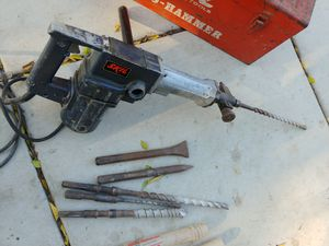skil rotary hammer drill demo concrete drill for Sale in Lake Elsinore, CA