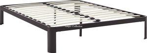 Full Size Platform Bed with Wooden Slats, SKU# MOD5468BRNTC for Sale in Norwalk, CA