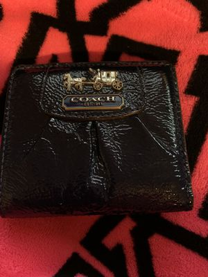 Coach small size wallet midnight blue for Sale in Yuma, AZ