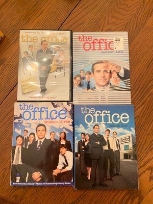 The Office Season 1, 2, 3, 4. DVD for Sale in Parkland, FL