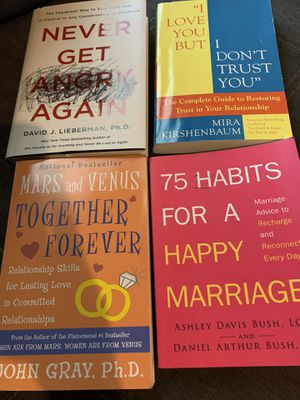 Books for marriage and relationships for Sale in Blythewood, SC
