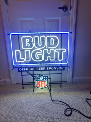Bud Light Sign for Sale in Columbus, OH