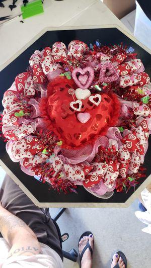 Pink Love Wreat for Sale in Santa Maria, CA