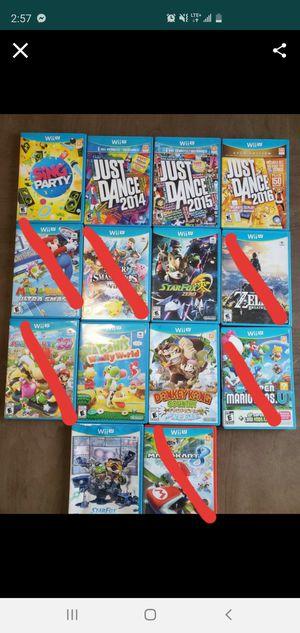 Nintendo wii u games for Sale in North Bergen, NJ
