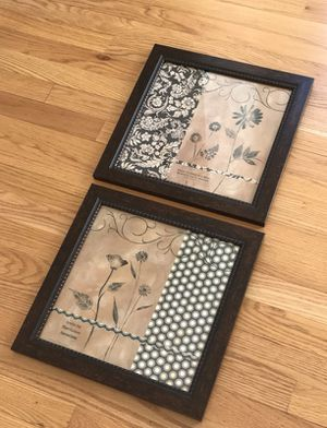 2- pictures framed for Sale in Bridgeport, CT