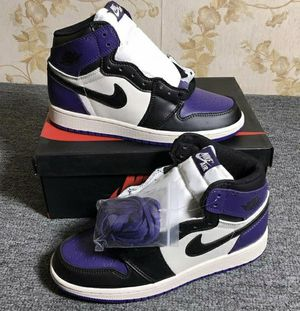 Court purple jordan 1's for Sale in Federal Way, WA
