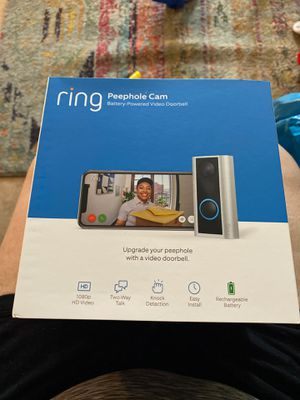 Ring peephole cam for Sale in The Bronx, NY