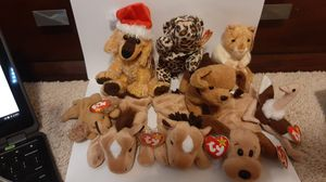 Lot of rare 1990s beanie babies for Sale in Richardson, TX