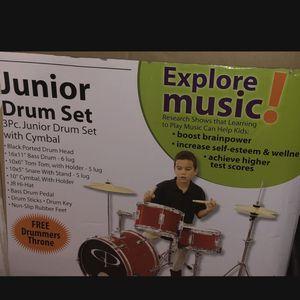 Junior Drum Set, Fuchsia. for Sale in Tacoma, WA