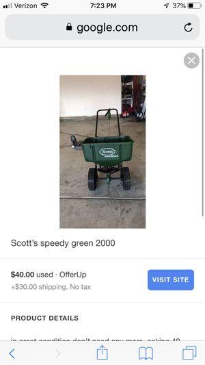 Scott's Spreader for Sale in Leesburg, VA