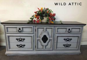 Gray Triple Dresser / Buffet / TV Stand for Sale in Gilbert, AZ