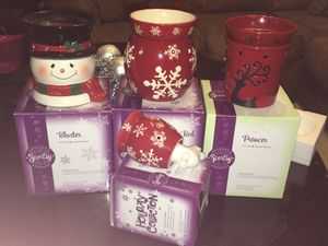 Christmas Xmas scentsy warmerS should for Sale in Palm Harbor, FL