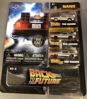 Back to the future nano diecast for Sale in Grand Prairie, TX