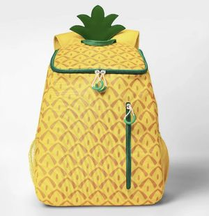 Sun Squad Pineapple Backpack Cooler Insulated Liner 20-can *NEW* for Sale in Chicago, IL