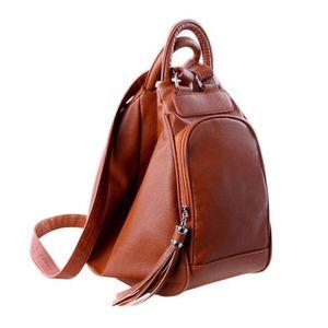 2019 women's new Retro leather Tassel backpacks shoulder bag casual shoulder bag multifunction women tote bag backpacks for Sale in Arcadia, LA