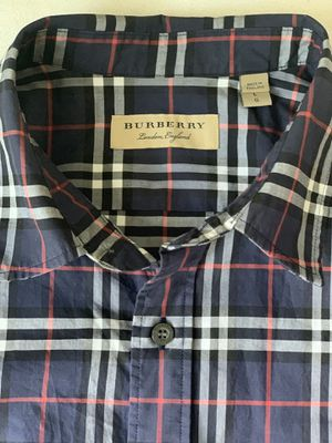 Burberry Shirt -Size L for Sale in Raleigh, NC