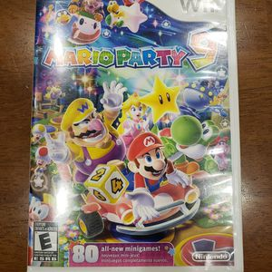 WII MARIO PARTY 9 COMPLETED WITH MANUAL for Sale in Irvine, CA