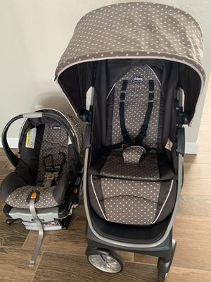 Chicco Bravo Stroller and Chicco Keyfit Car Seat for Sale in Choctaw Beach, FL