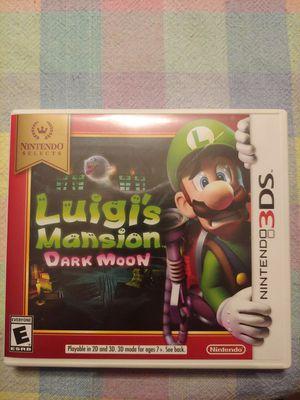 Luigi's Mansion Dark Moon Nintendo 3ds Great condition! for Sale in Davie, FL