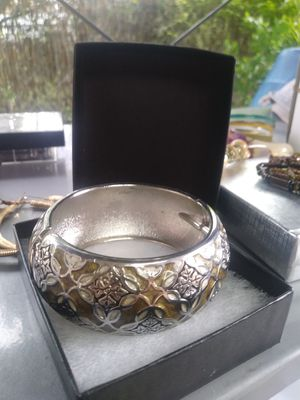 Green & Silver Bangle for Sale in Hialeah, FL