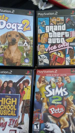 4 ps2 games for Sale in Bladensburg, MD