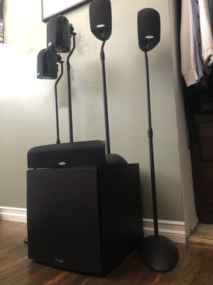 Polk Audio Surround with stands for Sale in San Diego, CA