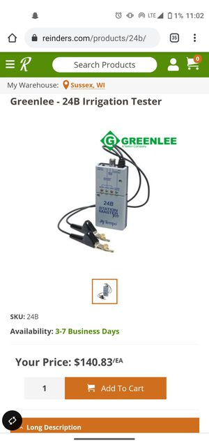 24B IRRIGATION TEST for Sale in Ontario, CA