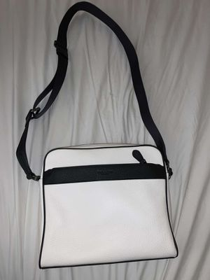 White leather coach messenger side satchel bag for Sale in Mesa, AZ
