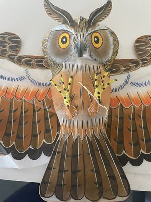 3D Mini Silk Owl with string for Sale in Los Angeles, CA