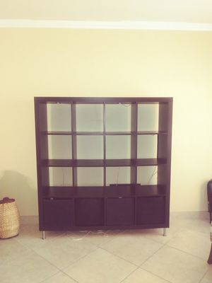 Living Room Shelving unit (IKEA) for Sale in Hialeah, FL