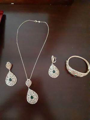 Necklace ,earrings ,bracelet for Sale in Arlington, VA