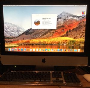 Apple 21.5in Screen iMac Computer w/Office 2016, It has Video and Music production software, Burner Web Cam Bluetooth WiFi and etc. 3.06.Ghz. Intel d for Sale in Ewing Township, NJ